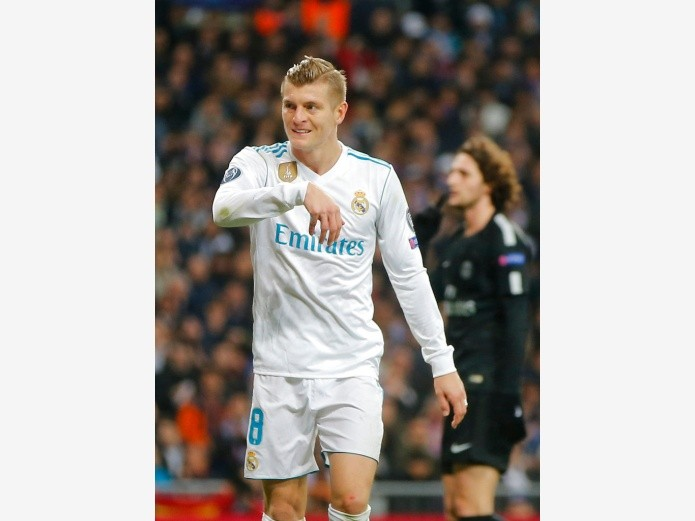Toni Kroos(Copyright 2017 The Associated Press. All rights reserved., AP, Copyright 2000 Adobe Systems Incorporated)